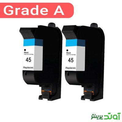 کارتریج جوهر افشان اچ پی 45 مشکی در طیف وسیعی از دستگاه های HP مورد استفاده قرار می گیرد