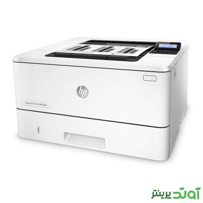 پرینتر لیزری اچ پی مدل LaserJet Pro M402dn یکی از محصولات HP است