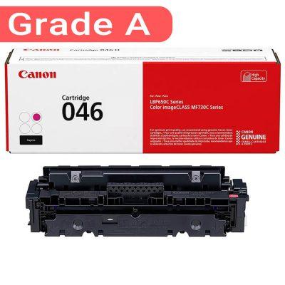 کارتریج کانن رنگی 046 رنگ قرمز کیفیت مطلوبی دارد