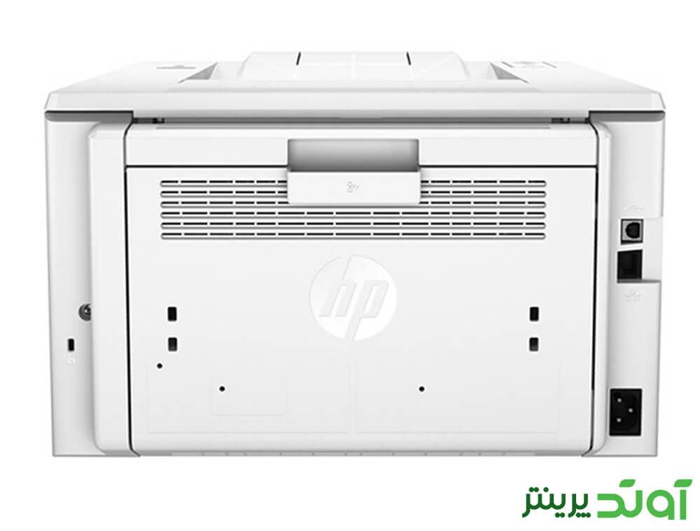 پرینتر لیزری اچ پی مدل LaserJet Pro M203dn در رنگ سفید در بازار موجود است