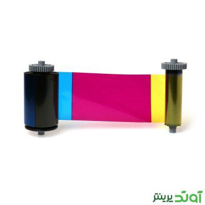 ریبون رنگی 250 عکس اسمارت Smart 31 YMCKO Ribbon اورجینال