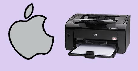 راه اندازی پرینتر HP مدل LASERJET P1102W روی سیستم عامل MAC