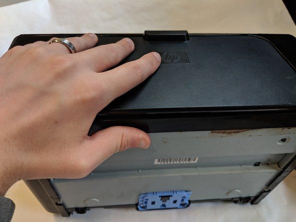 تعویض مادربرد پرینتر HP مدل LaserJet P1102w