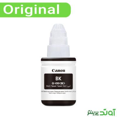 جوهر مشکی کانن Canon Black Color GI-490