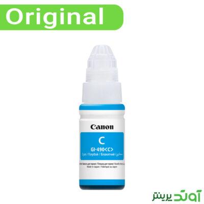 جوهر فیروزهای کانن Canon Cyan Color GI-490