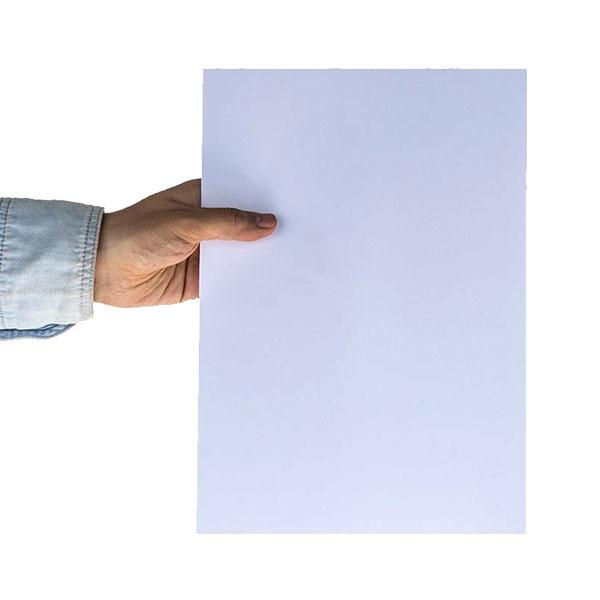 کاغذ گلاسه A4 چسب دار 135 گرمی Wolf