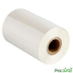 ریبون سوپر رزین Super Resin Ribbon 110x300 سفید - ریبون لیبل پرینتر - ریبون سفید
