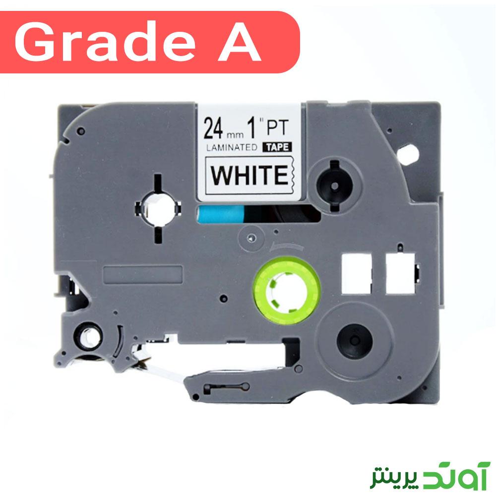 Brother TZ2-251 Label Tape Cassette Black on White