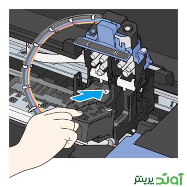 هد پرینتر کانن سری G مراحل نصب هد 8-1--