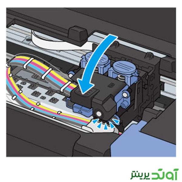 هد پرینتر کانن سری G مراحل نصب هد 8-2-