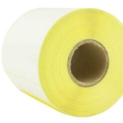 100×100 PVC label single-row 1