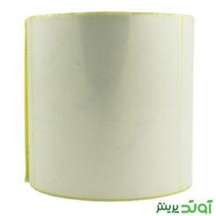 100×100 PVC label single-row 2
