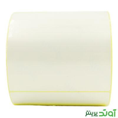 100×100 PVC label single-row 3