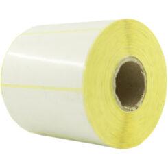 لیبل (برچسب) پی وی سی تک ردیفه 100×50 PVC label single-row