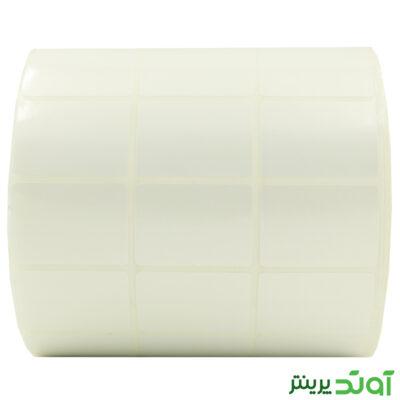 35×25 Label PVC three rows 2
