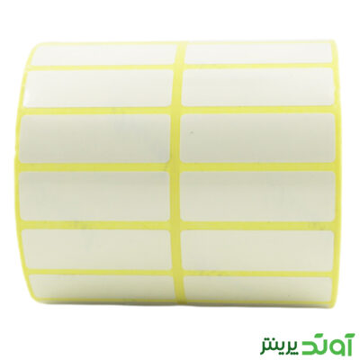 45×15 PVC label single-row 2