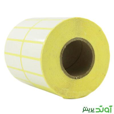 45×15 PVC label single-row 3