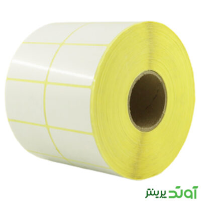 45×30 Label PVC two rows  4