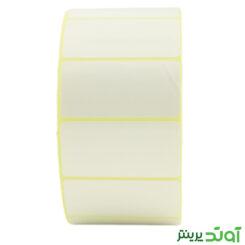 50×25 Label PVC two rows 2