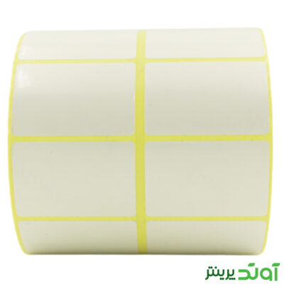 51×34 Label PVC two rows2