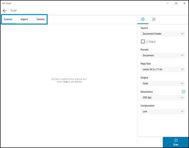 اسکن را به صورت فایل PDF تک یا چند صفحهای ذخیره کنید