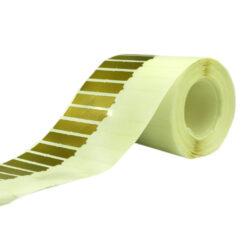 لیبل جواهر دم شیشه طلایی Golden Jewelry Tag