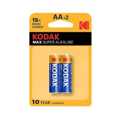باتری قلمی کداک Max Super AAx2 1.5V