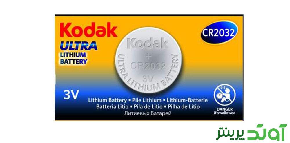 باتری سکه ای کداک CR2032 3V