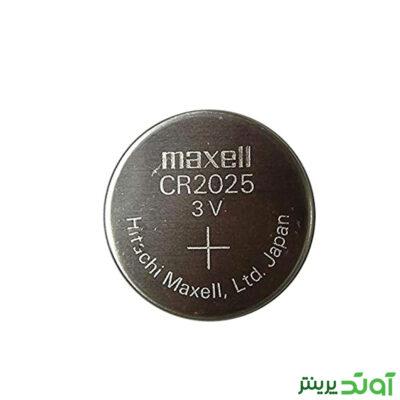 باتری سکه ای Maxell CR 2025 3V