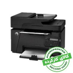 پرینتر چندکاره لیزری HP LaserJet Pro MFP M127fn استوک