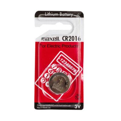 باتری سکه ای Maxell CR 2016 3V