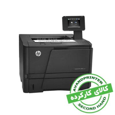 پرینتر لیزری HP LaserJet Pro 400 M401dn استوک