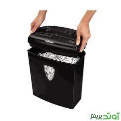 Floss paper shredder