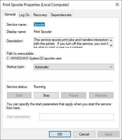 مشکلات دستگاهها و پرینترها در ویندوز 10