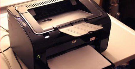 رفع خطای عدم پرینت پرینتر HP LaserJet P1102W